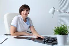 Doutor da mulher Fotografia de Stock
