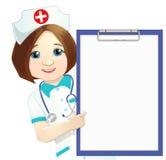 Doutor da mulher ilustração royalty free