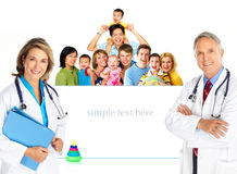 Doutor de família foto de stock
