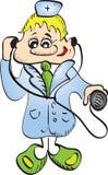 Doutor de sorriso. Fotografia de Stock Royalty Free