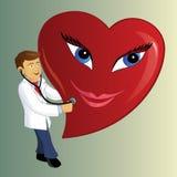 Doutor do coração ilustração do vetor