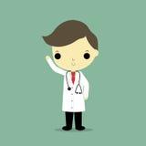 Doutor do homem ilustração do vetor