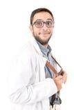 Doutor do lerdo imagens de stock