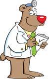 Doutor do urso ilustração royalty free