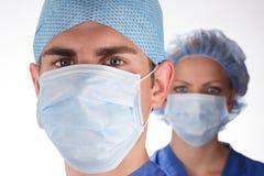 Doutor e enfermeira 2 fotografia de stock