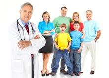 Doutor e família Imagens de Stock