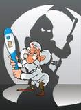 Doutor e morte Imagem de Stock