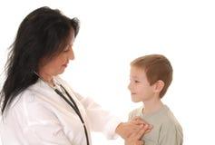 Doutor e paciente 9 Fotografia de Stock Royalty Free