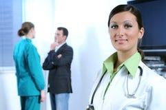 doutor e serviço sanitário Imagens de Stock Royalty Free