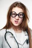 Doutor engraçado Foto de Stock