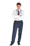 Doutor envelhecido médio Imagem de Stock Royalty Free