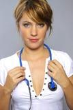 Doutor fêmea foto de stock