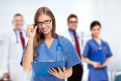 Doutor fêmea Portrait fotos de stock