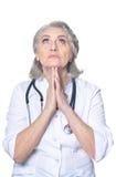 Doutor fêmea superior Imagem de Stock Royalty Free