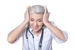 Doutor fêmea superior Fotografia de Stock Royalty Free