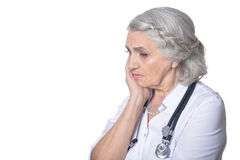 Doutor fêmea superior Imagens de Stock