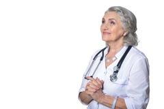Doutor fêmea superior Foto de Stock