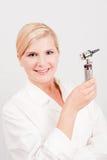 Doutor fêmea profissional novo Fotografia de Stock Royalty Free