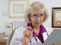 Doutor Giving Conselho fotos de stock