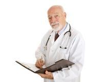 Doutor - História médica Imagens de Stock