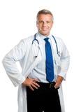 Doutor maduro confiável Fotografia de Stock Royalty Free