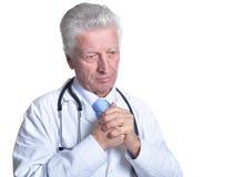 Doutor masculino superior Fotografia de Stock Royalty Free