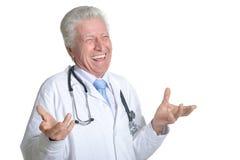 Doutor masculino superior Fotos de Stock Royalty Free