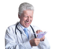 Doutor masculino superior Imagens de Stock Royalty Free