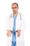 Doutor nas algemas fotografia de stock