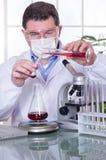 Doutor no laboratório imagem de stock royalty free