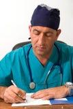 Doutor no trabalho imagem de stock royalty free