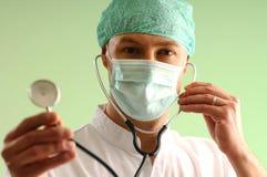 Doutor novo Fotografia de Stock Royalty Free