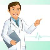 Doutor novo ilustração royalty free