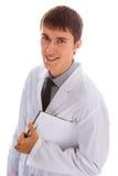 Doutor novo feliz Imagem de Stock Royalty Free