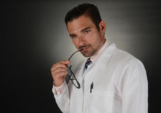 Doutor pensativo Foto de Stock Royalty Free