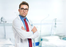 Doutor Portrait imagem de stock royalty free