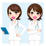 Doutor profissional Mulher Imagem de Stock Royalty Free