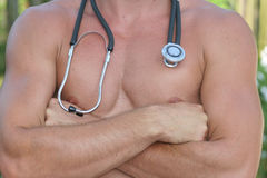 Doutor 'sexy' Imagens de Stock Royalty Free