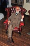 Doutor Sigmund Freud na senhora Tussaud Fotografia de Stock Royalty Free