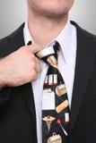 Doutor Sublinhação Homem Imagens de Stock Royalty Free