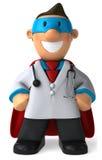 Doutor super ilustração do vetor