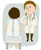 Doutor Talking ao paciente Foto de Stock Royalty Free