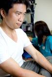Doutor Visita no hospital Fotografia de Stock