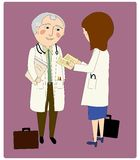 Doutores Consulting Fotografia de Stock
