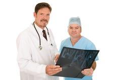Doutores de confiança imagens de stock