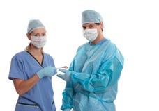 Doutores e cirurgiões foto de stock