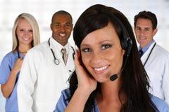 Doutores e enfermeira Imagem de Stock