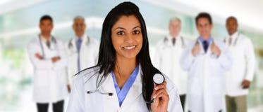 Doutores e enfermeira Imagens de Stock