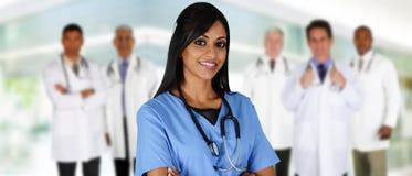 Doutores e enfermeira Imagem de Stock Royalty Free