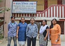 Doutores e voluntários Foto de Stock Royalty Free